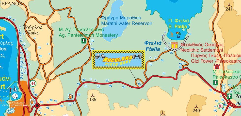 raceland map
